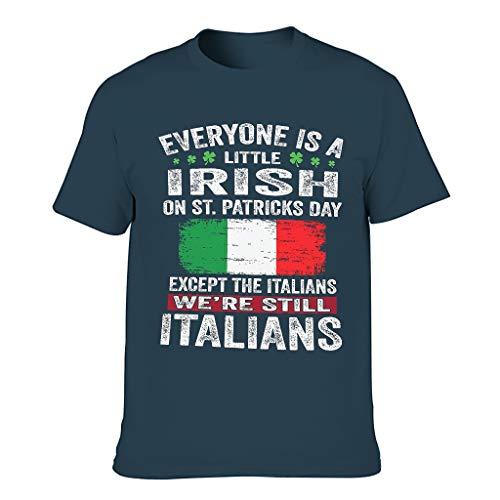 Männer T-ShirtsKurzen ÄrmelsTee Regular Fit T-Shirt LustigeT-Stücke Navy 2XL