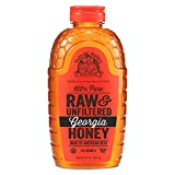 Nature Nate's 100% Pure Raw & Unfiltered Georgia Honey; 32 oz; Certified Gluten Free and OU Kosher...