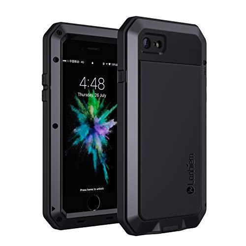 Lanhiem Funda iPhone SE 2020 7/8 Antigolpes [Rugged Armour] Cuerpo Completo Protectora,Prueba de...
