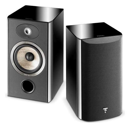 Find Discount Focal Aria 906 2-Way Bass Reflex Bookshelf Speaker, Black Piano Lacquer, Single