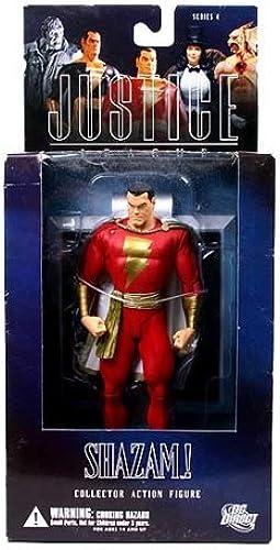 DC Direct Justice League Alex Ross Action Figures Series 4  Shazam