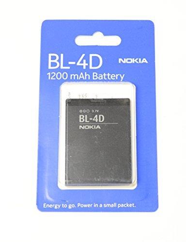 Nokia BL-4D batteria 1200mAh/Confezione originale (Imballaggio della bolla)/ Nokia E5, E7, E7-00, N8, N8-00, N97 Mini