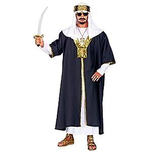 WIDMANN 05504 Disfraz de Sultan, para hombre, negro, XL: Amazon.es ...