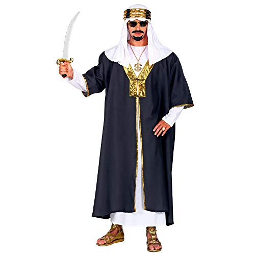 WIDMANN 05500 Disfraz de Sultan, para hombre, negro, XXL , color/modelo surtido