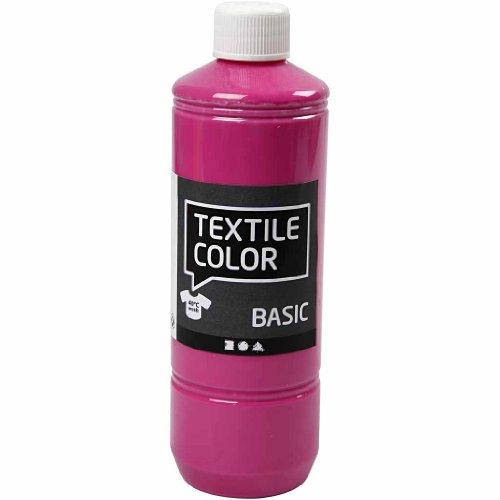 Art-Manufacture-Design - Colore tessile, 500 ml, colore rosa