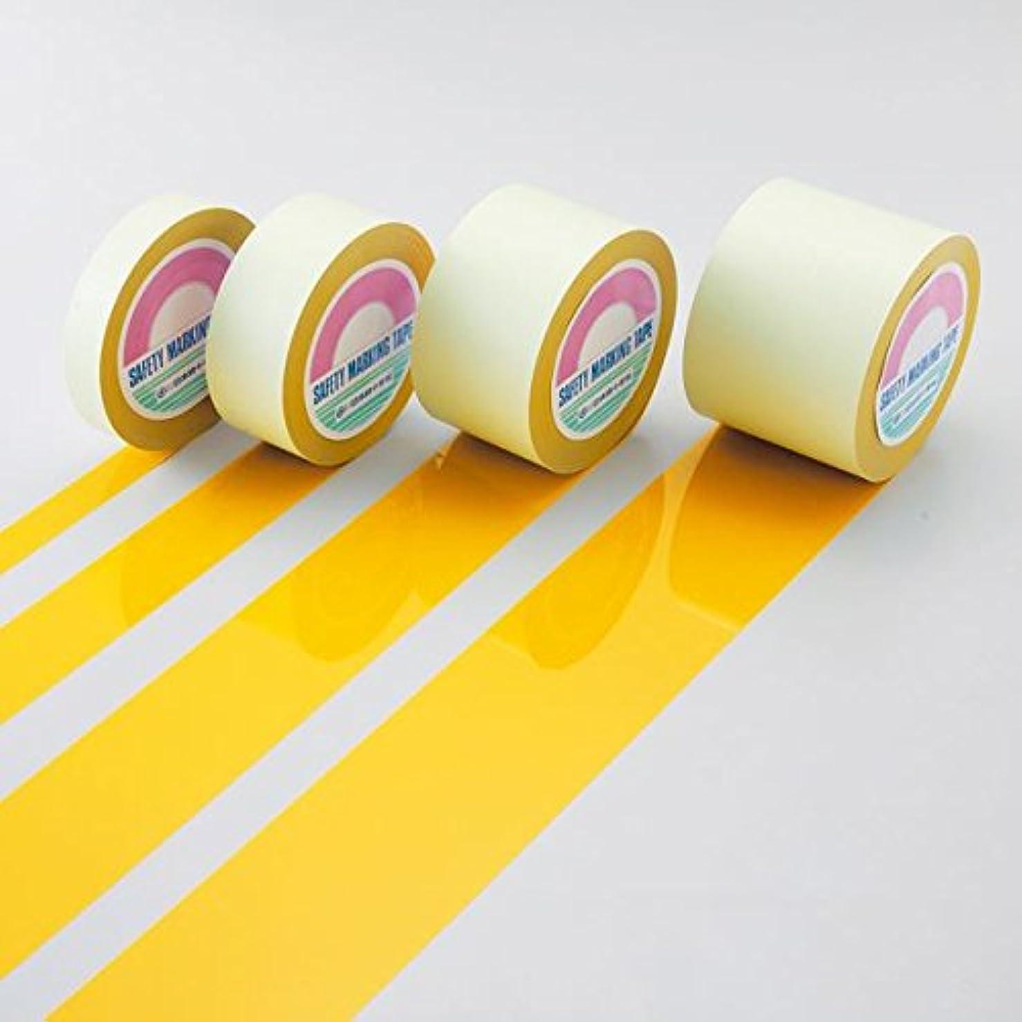 タヒチ従順な改善ガードテープ GT-101Y ■カラー:黄 100mm幅