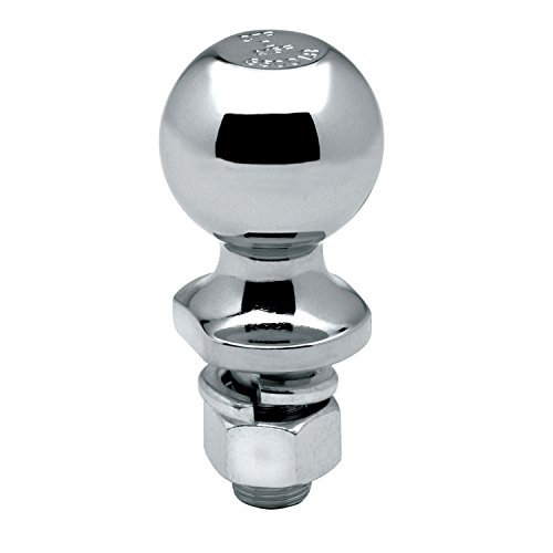 Best Deals! Tow Ready Reese 63889 Packaged Class II Hitch Ball, Chrome - 2 Ball x 3/4 x 2-3/8, 3,...
