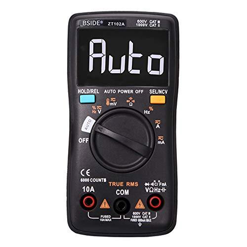 Best Price Leepesx 6000 Counts Digital Multimeter AC/DC Voltage Current Portable Handheld Ammeter Oh...