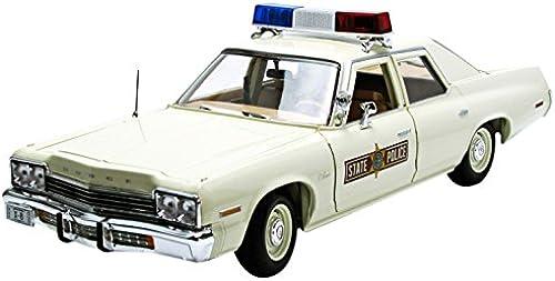 Dodge Monaco (Illinois Staat Polizei 1974) Druckguss Modell Auto