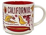 Starbucks Been There Series California Ceramic Mug, 14 Oz
