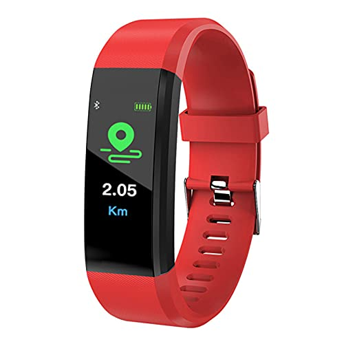 NC Bluetooth Sports Smart Watch, Waterproof Heart Rate Blood Oxygen Adult Blood Pressure Electronic Bracelet Monitor, Fitness Tracker, Suitable for Android and iOS Phones