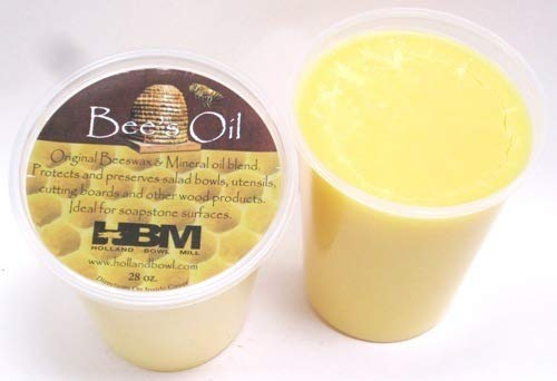 Bee's Oil Salad Bowl & Wood Conditioner - 32 Oz. Tub - Holland Bowl Mill