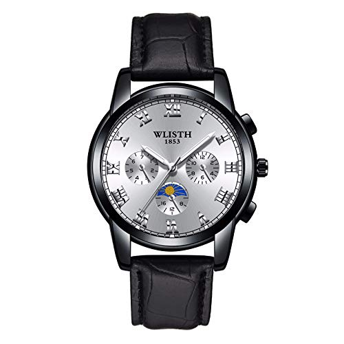 Waterproof Watch for Swimming, Students and Medical Professionals with Second Hand, Easy to Read Quartz Wrist Watch