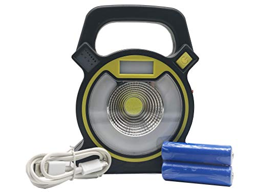Multifunctionele led-zaklamp met noodlicht, USB-oplader en oplaadbare batterijen, 3 helderheidsniveaus, 60 lm, 120 lm, 160 lm