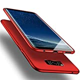 X-level für Samsung Galaxy S8 Hülle, [Guardian Serie] Soft Flex Silikon Premium TPU Echtes Handygefühl Handyhülle Schutzhülle Kompatibel mit Galaxy S8 5,8 Zoll Case Cover - Rot