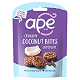 APE Mordeduras de chocolate de coco (Coconut Bites- Chocolate) 26g (Pack de 6)