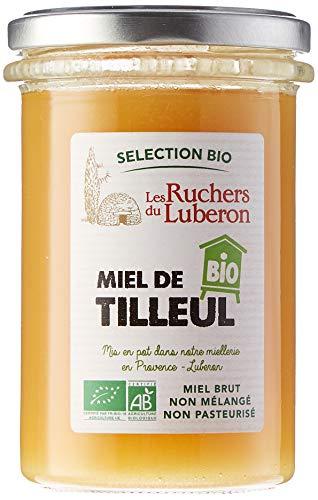 Les Ruchers du Luberon Miel Bio de Tilleul 370 g