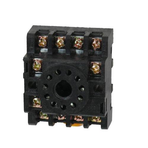 Aexit PF113A 11-polige Schraubklemmen Hutschienen-Relaissockel für MK3P-I (a43415240e026f5d954416edb8992d33)