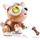 OrangeC Robot Electrónico Perro Control De Voz Inteligente Perro Mascota Mágico Sensor Táctil Multifuncional Robot Electrónico Modelo De Perro Juguete De Montaje