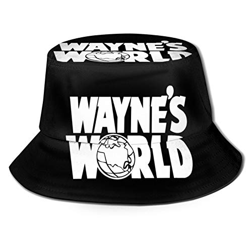 HXINSDG9S Wayne's World Movie Fisherman Hat Sun Protection Packable for Summer Outdoor Traveling