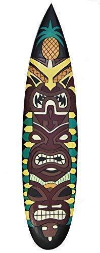 Tiki Tabla de surf 100cm IM HAWAI Maui Estilo Tabla de surf Letrero De Madera Decoración