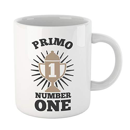 Kembilove Tazas Familiares – Preciosas Tazas para Toda la Familia – Tú Eres El Primo Número Uno – Magníficas Tazas de Café para Hombres y Mujeres – Regalos Divertidos para Familiares y Amigos