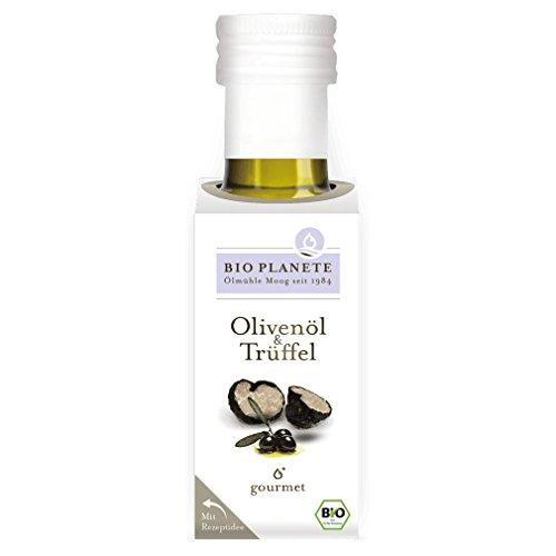 Bio Planète Olivenöl mit echtem weißem Alba-Trüffel (100 ml) - Bio