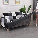 Funda de sofá elástica elástica con Estampado Floral, Toalla de sofá de algodón, Fundas de sofá Antideslizantes para Sala de Estar A27, 1 Plaza