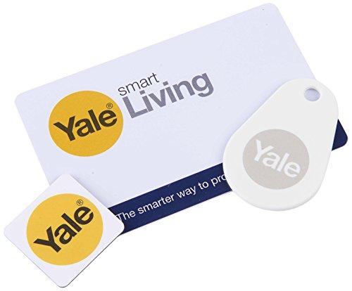 Yale Smart Living p-yd-01-con-rfidm Smart Lock Bundle–Weiß (3-teilig)