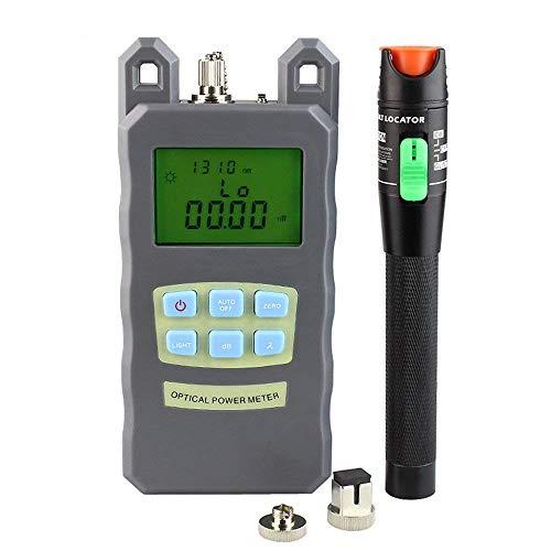 DAXGD Fibra Optica de bolsillo metro de energía + 30 mW fuente...
