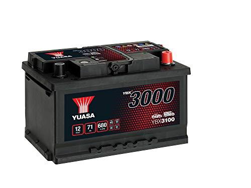 AUTOBATTERIE YUASA YBX 3100-71Ah 12V 650A (EN)