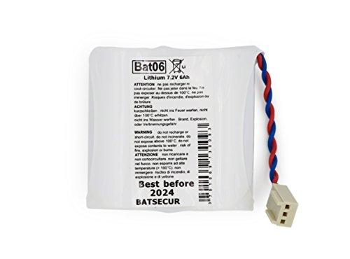 Batterie Alarmanlage BATLI06, 7,2V, 5,0Ah, kompatibel mit Daitem/Logisty