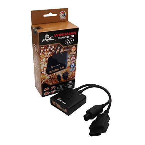 Mcbazel Brook Wingman SD-Konverter für Xbox 360/Xbox One/Xbox Elite 1&2/PS3/PS4/Switch Pro Controller auf Sega Dreamcast & Saturn Konsole