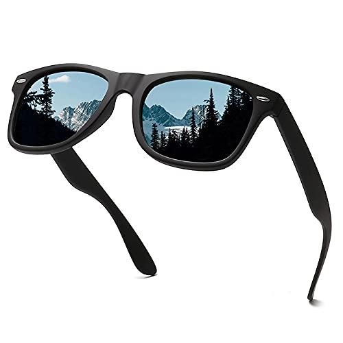 XJW Gafas de sol polarizadas para hombre para conducción al aire libre, día y noche, gafas de sol que cambian de color, el mejor regalo para padre 2021/5/31 (color: azul)