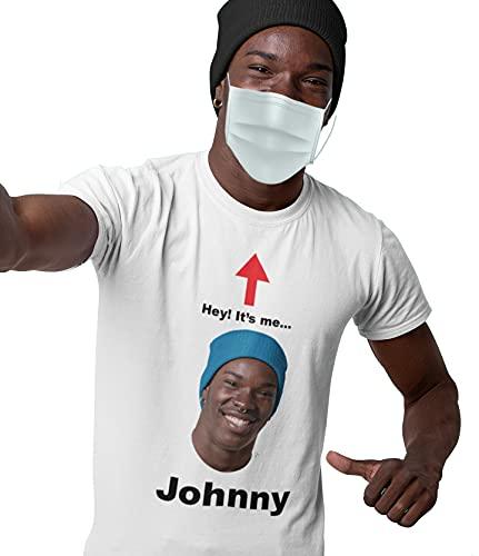 Custom Face Mask T-Shirt - COVID 2020 Shirt, Funny Coronavirus, Your Face Here, Personalized Name