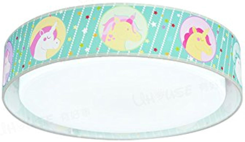 GuoShop- Meteor Dusche Decke Licht Junge Mdchen Prinzessin Baby Schlafzimmer kreative Cartoon Auge Schutz LED Lampen ( Farbe   Warmes Licht-24W )