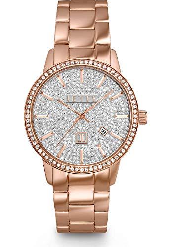 JETTE Damen-Uhren Analog Quarz One Size Rosé 32001876