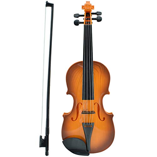 Huang Cheng Toys Plastic Toy Violin Battery Power Adjustable Children Education Toys