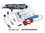 Total Bleed Solutions TBS SRAM Kit de Purga de Frenos hidráulicos