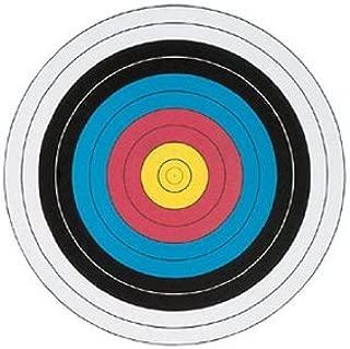 3 Pc. Archery COLOR Target Faces - Heavy Duty Paper - Official World Archery FITA 40 cm -