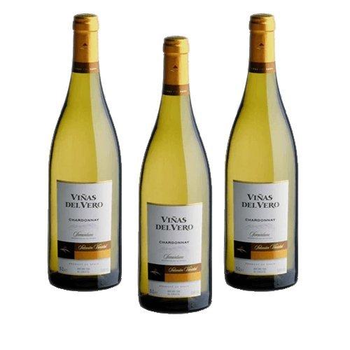 Viñas Del Vero Chardonnay - Vino Blanco - 3 Botellas