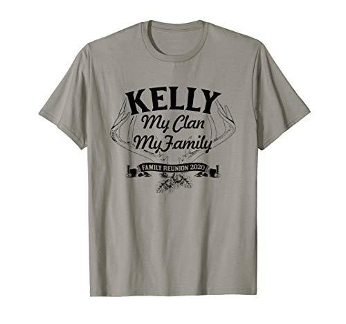 KELLY Family Reunion 2020 My Clan My Family T-Shirt