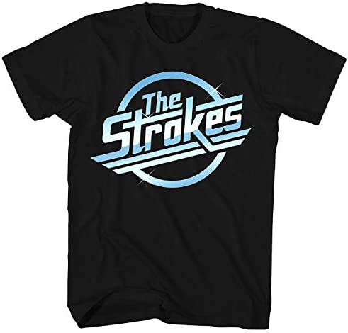Dou C Knighgt Graphic The Strokes t Shirt for Men XXL Black product image