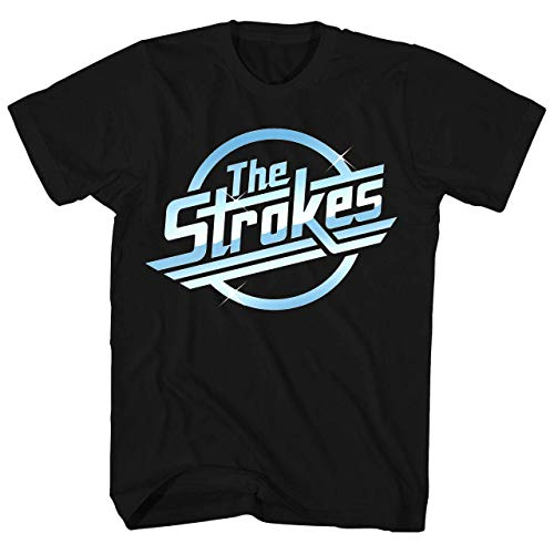 Dou.C Knighgt Graphic The Strokes t Shirt for Men XXL Black