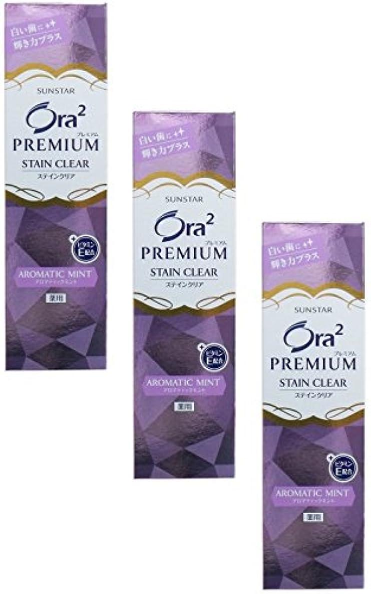 【まとめ買い】Ora2(オーラツー) プレミアム スティンクリアペースト アロマティックミント100g (医薬部外品)【×3個】