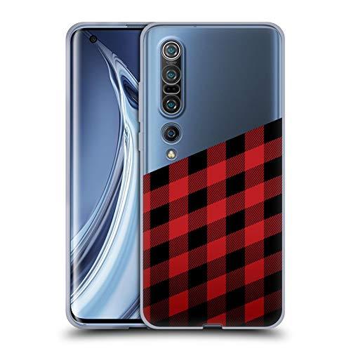 Head Case Designs Ufficiale Nicklas Gustafsson Taglialegna Textures 2 Cover in Morbido Gel Compatibile con Xiaomi Mi 10 PRO 5G