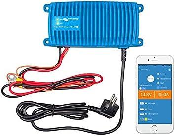 Victron Energy - Cargadore 13A 12V Victron Energy Blue Smart IP67 Bluetooth 12/13 1 Schuko - BPC121313006