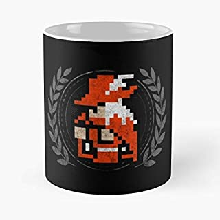 Final Fantasy Ff1 Black - Best Gift Ceramic Coffee Mugs