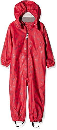 Racoon Baby-Mädchen Vega Regenanzug (Wassersäule 5.000) Regenjacke, Pink (Virtual Pink Vir), 92