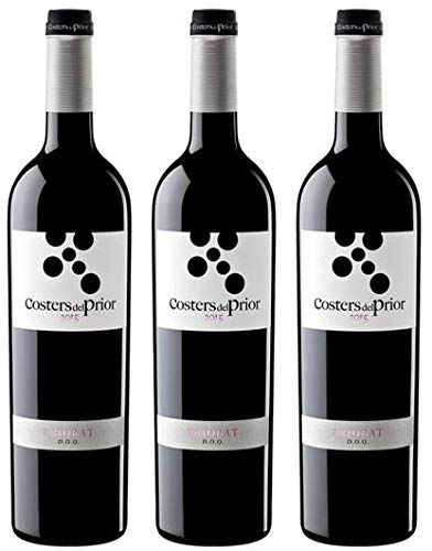 Costers del Prior Vino Tinto Priorato - pack 3 botellas de 750 ml - 2250 ml